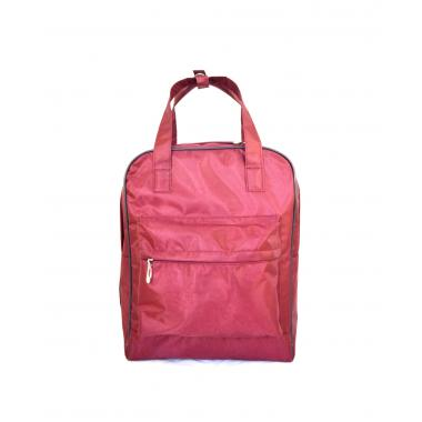 Сумка рюкзак  Volcan бордовый оксфорд