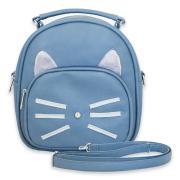 Сумка-рюкзак -трансформер женский Gatito синий