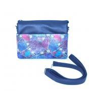 Сумка женская MiniFlash синий-синие листья