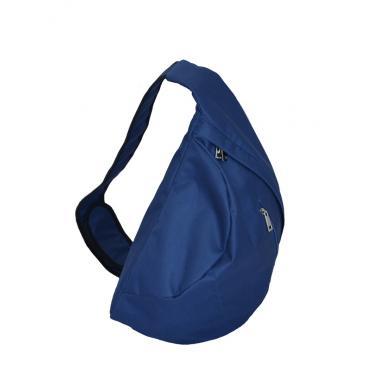 Сумка-рюкзак унисекс с одной лямкой оксфорд синий