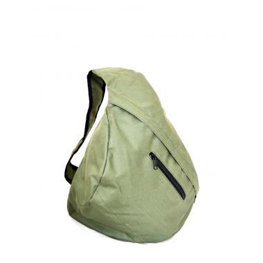 Сумка-рюкзак с одной лямкой оксфорд хаки