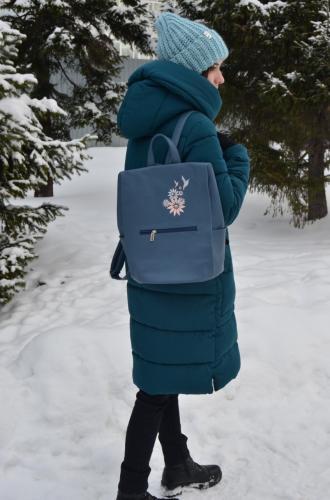 Уход за сумкой зимой