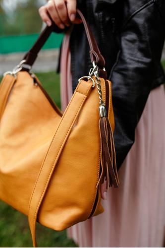Современная сумка мешок